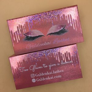 custom mink lash packaging