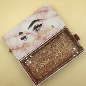 box private label eyelash packaging
