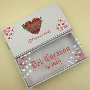 New Design Valentine's Day Mink Eyelash Packaging Box