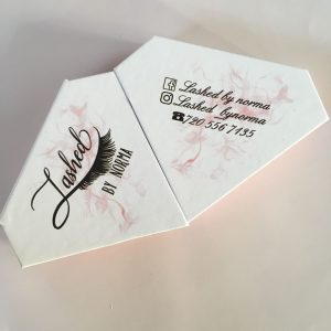 Custom Eyelash Diamond Packaging Boxes